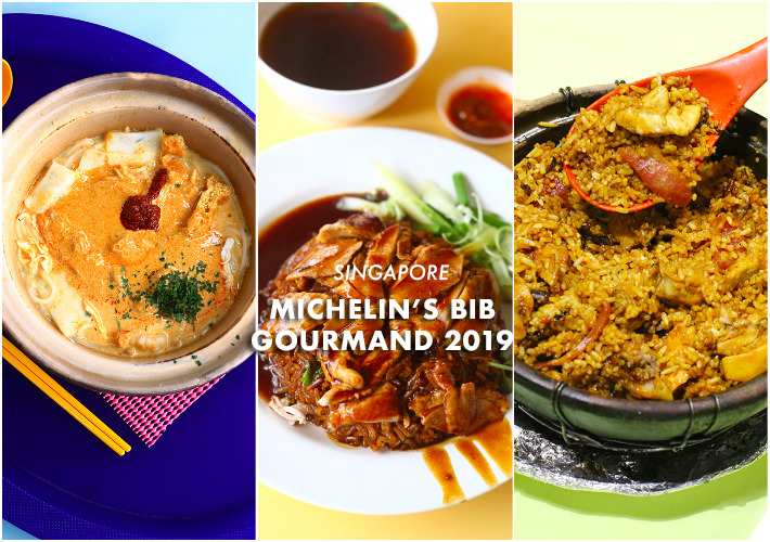 Singapore Michelin's Bib Gourmand 2019