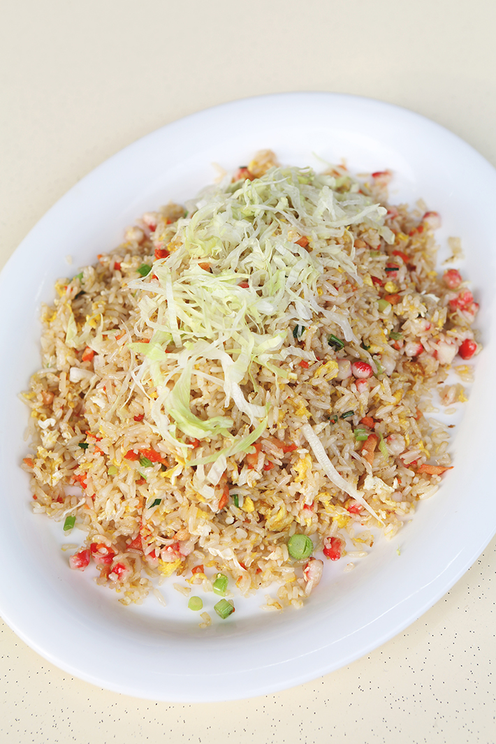 fried rice tian wei seafood