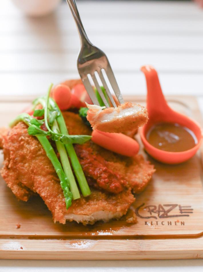 Craze Kitchen Craze Double Chicken Cutlet Piece