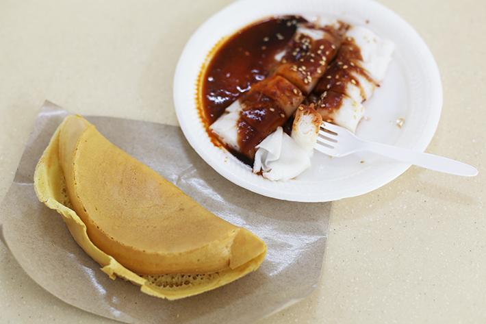 He He Ming Jiang Kueh Peanut Pancake Chee Cheong Fun