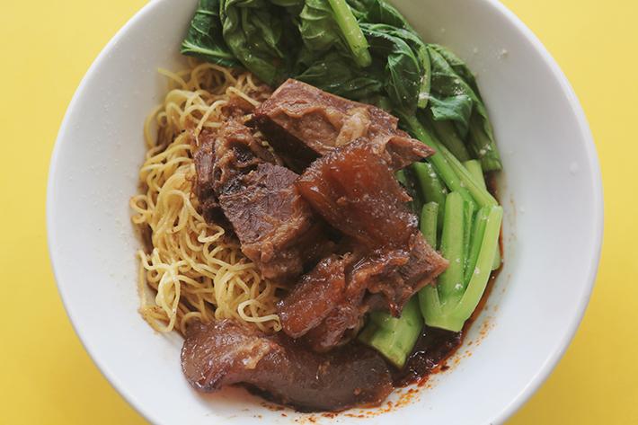 pork rib noodle lao jie fang
