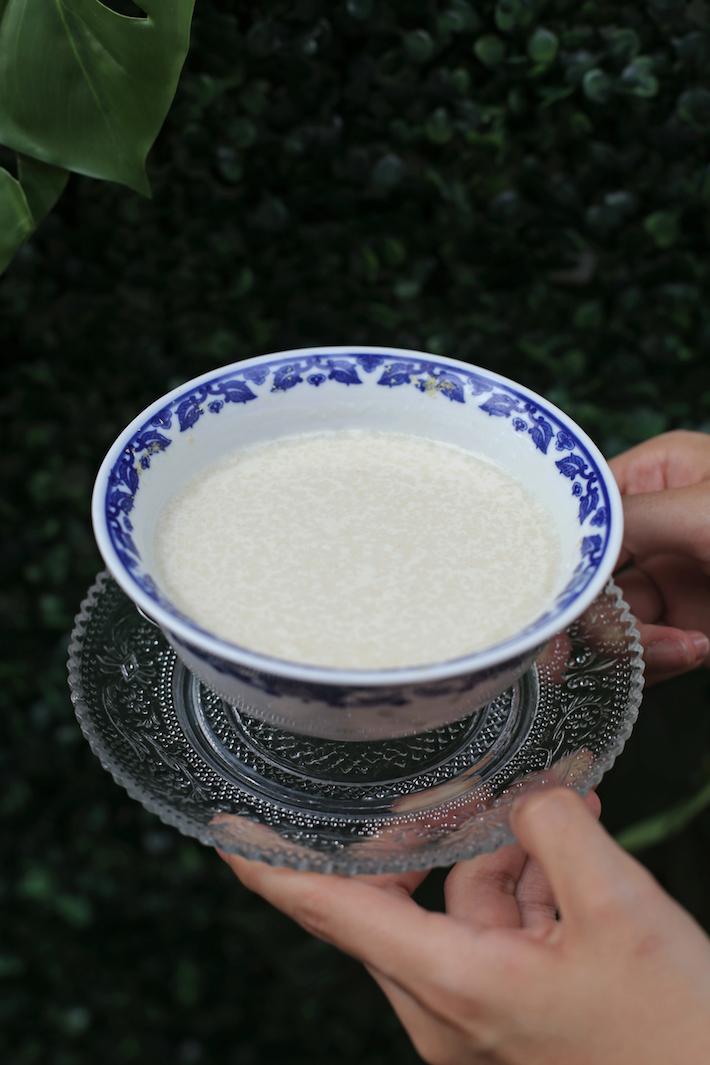 Chow Zan Dessert Ginger Milk Pudding
