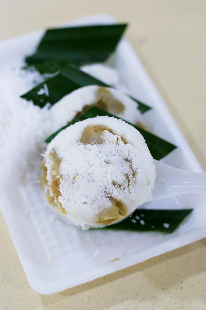 Haig Road Durian Putu piring