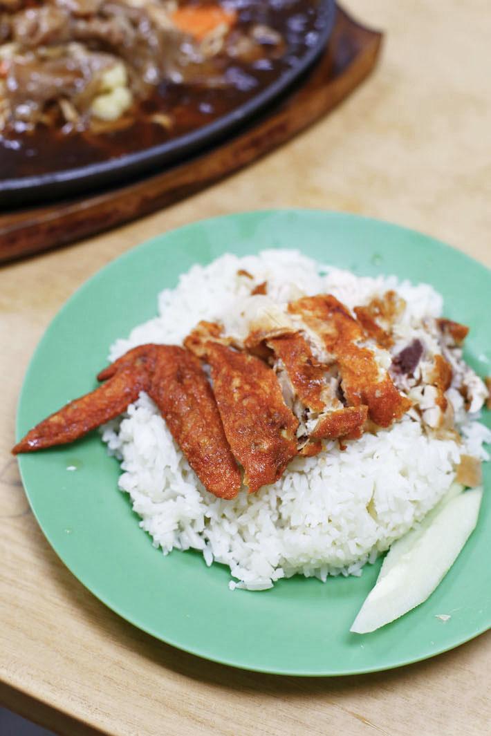 Cahaya Muslim Restaurant Roasted Chicken Rice