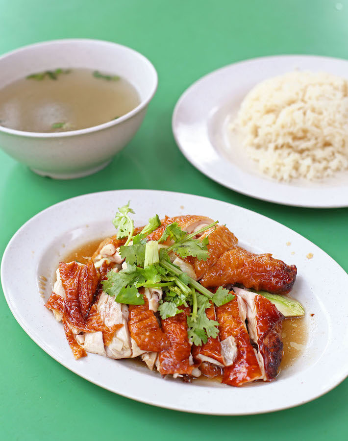 Chen Ji Chicken Rice Full Set