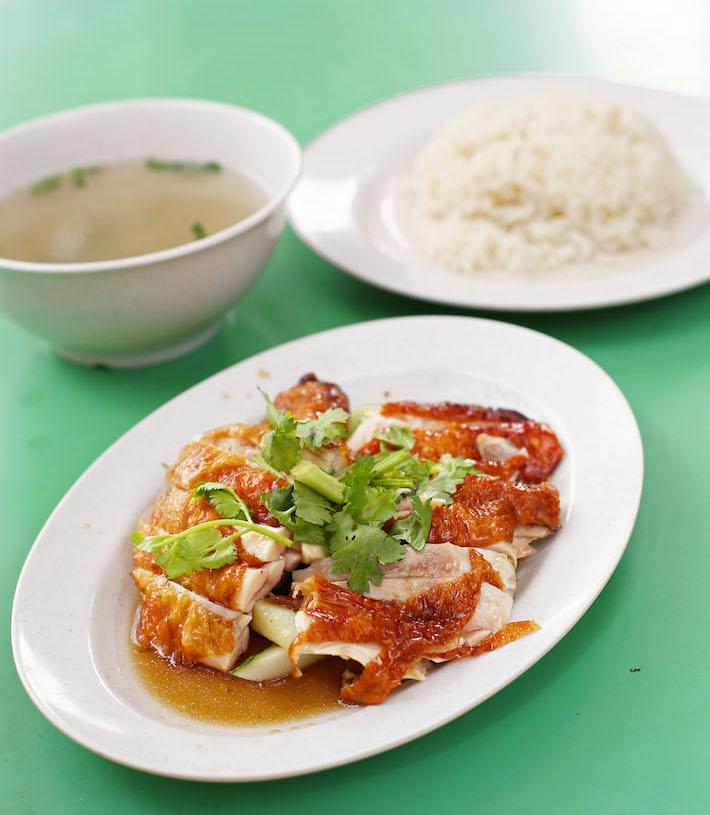 Chen Ji Chicken Rice Portrait Chicken 2