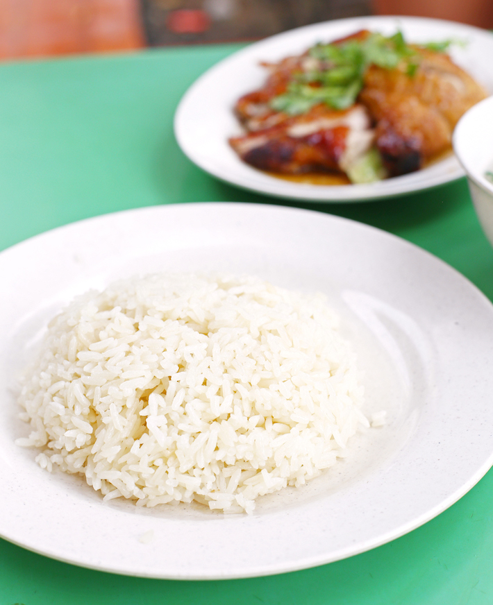 Chen Ji Chicken Rice Rice