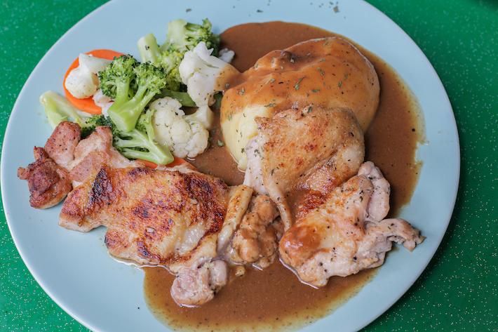 Desmond Pasta Chicken Chop