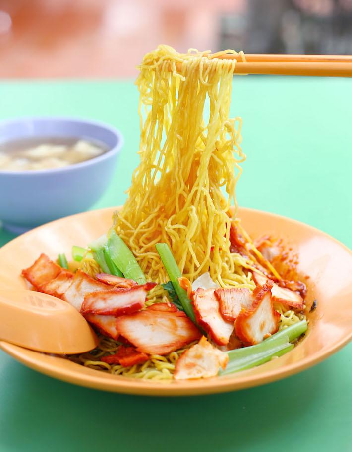 Guangzhou Mian Shi Wanton Noodle Pull