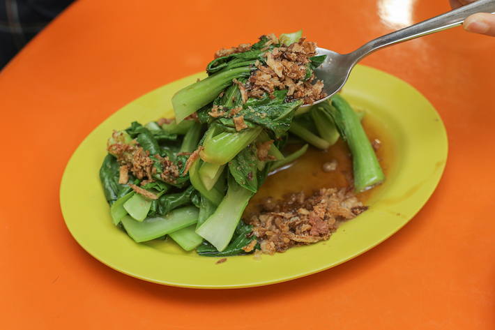 Hainanese Delicacy Oyster Veg