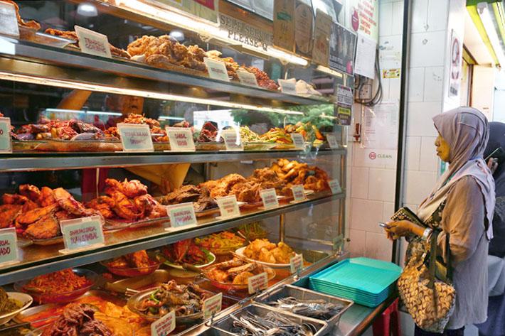 Sinar Pagi Nasi Padang Stall Front