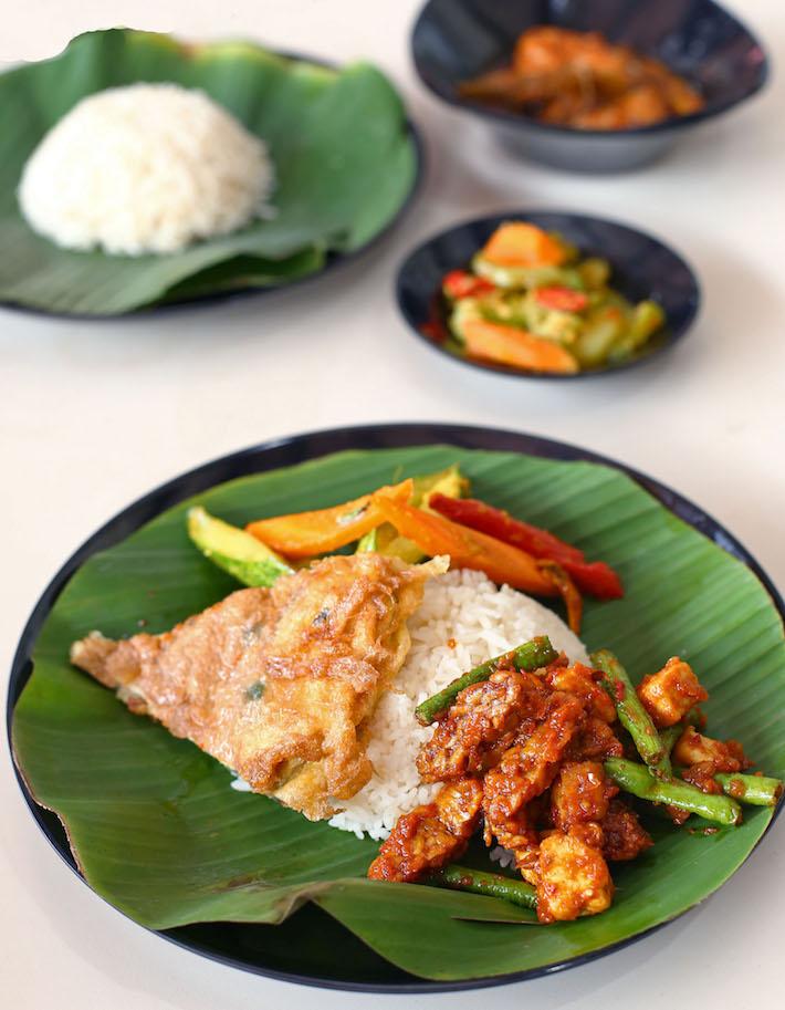 Sinar Pagi Nasi Padang Tahu Goreng