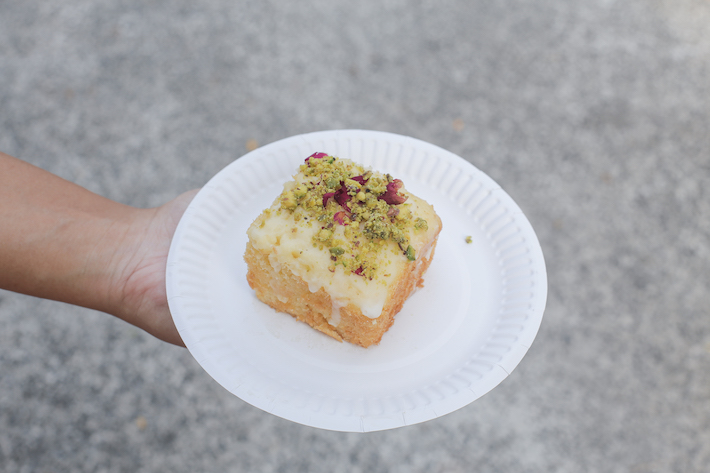The Headless Baker Lemon and Pistachio Tea Cakes
