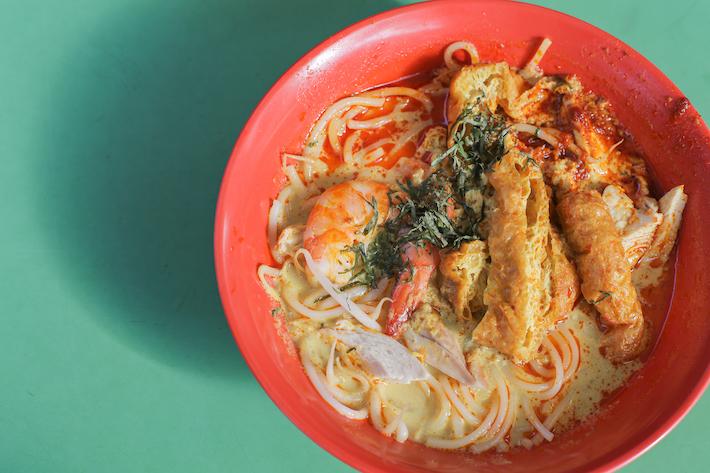 Wei Yi Laksa and Prawn Noodle